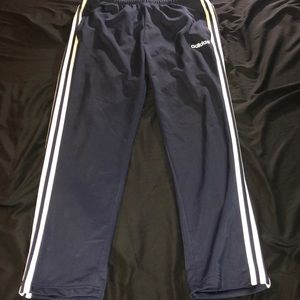 Navy Blue Adidas Sweatpants
